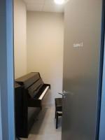 Aula de música  puerta acústica