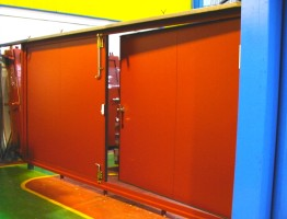 Puertas acústicas gran tamaño