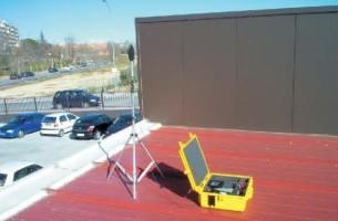 Madición exterior, comportamiento de pantalla acústica