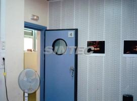 puerta acústica y revestimiento acústico